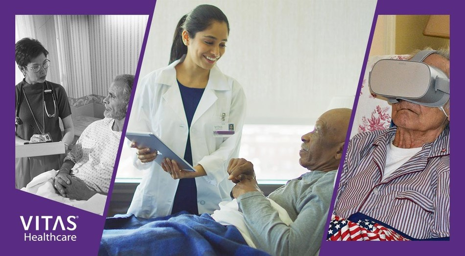 From the early days of handwritten intake forms to today's use of virtual reality, VITAS Healthcare has been a leader in innovating patient care over the last four decades.