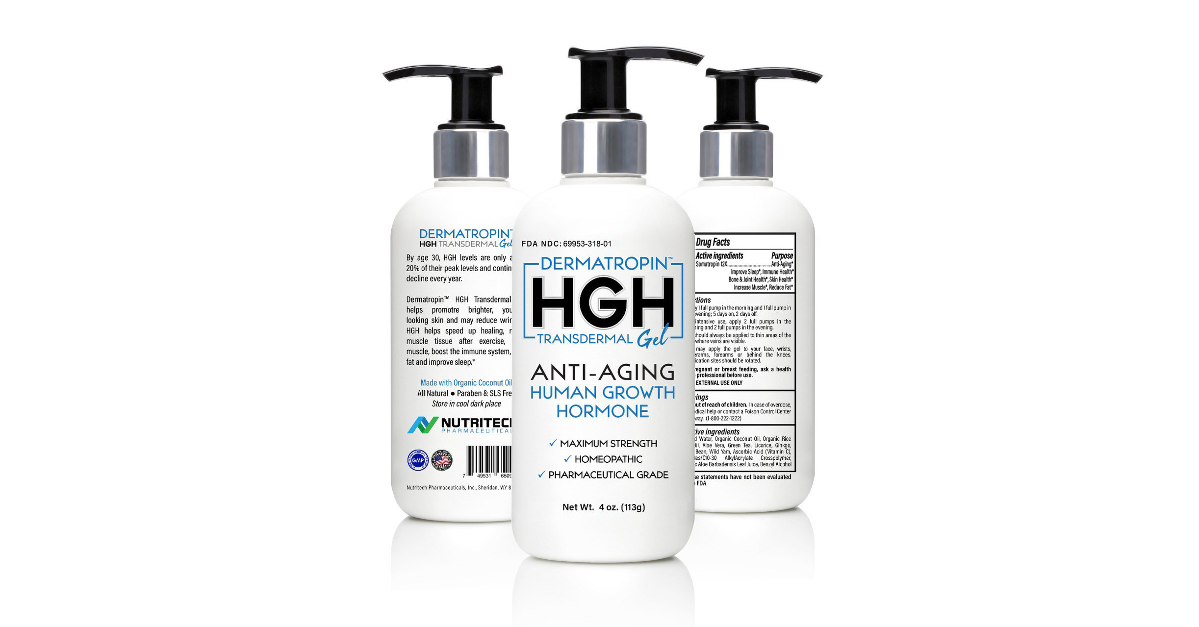Dermatropin Hgh Now Available Without A Prescription Directly To Consumers