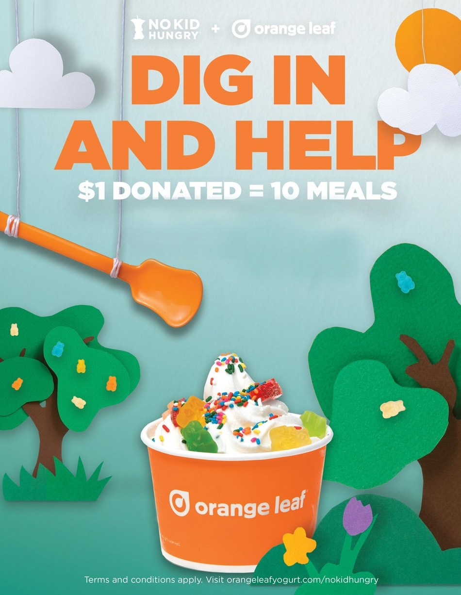 All September, Guests who donate $1 or more will receive a coupon for a free froyo in October.
