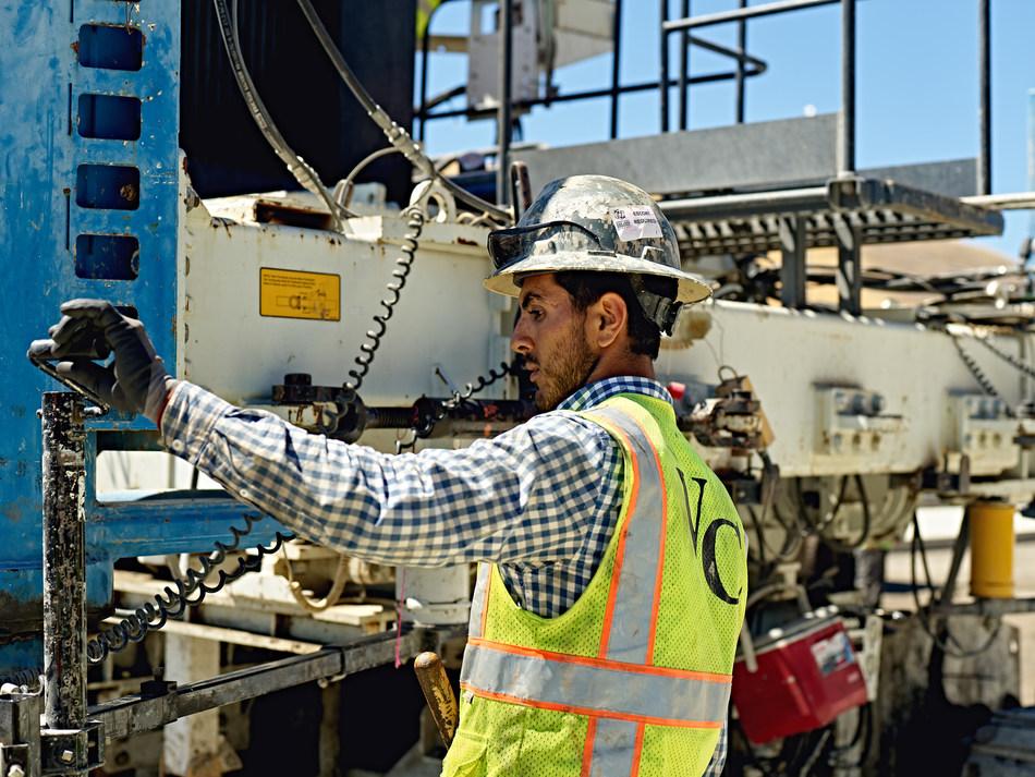 Samsara construction customer.