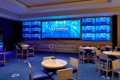 The FanDuel Sportsbook at Belterra Casino Resort in Florence, Indiana; Monday, September 9, 2019.