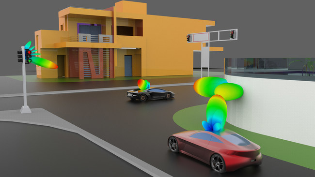 ANSYS 2019.3 delivers significant simulation capabilities that enable V2X communication for autonomous vehicles