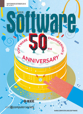 IEEE Software magazine's issue on the 50th Anniversary of Software Engineering Wins 2019 APEX Award of Excellence