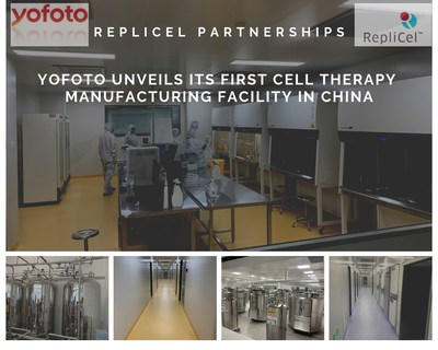 YOFOTO Cell Therapy Manufacturing Facility (CNW Group/RepliCel Life Sciences Inc.)