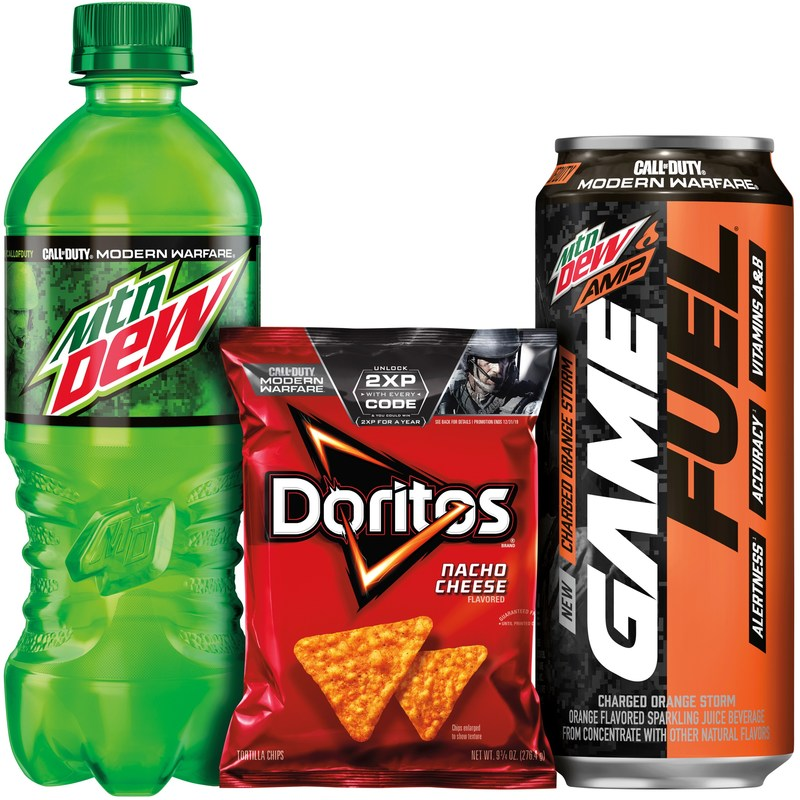 Mtn Dew Mtn Dew Amp Game Fuel And Doritos Join
