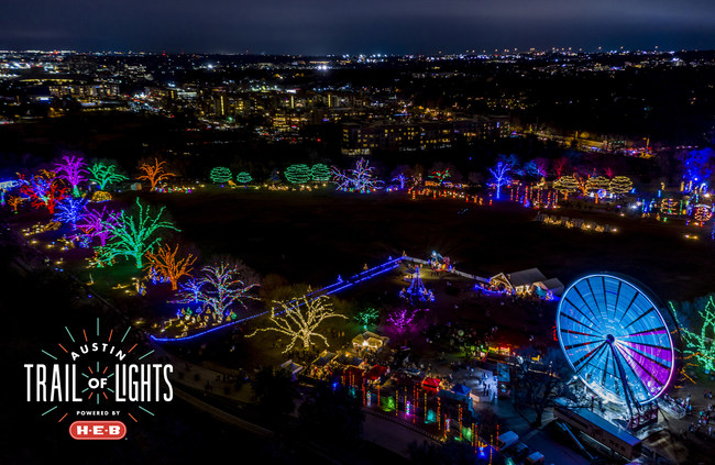 2019 marks the 55th year of the Austin Trail of Lights