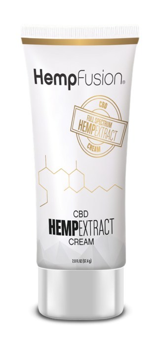 Hemp Extract CBD Cream (CNW Group/Hemp Fusion)