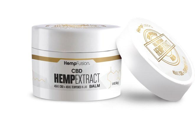 Hemp Extract CBD Balm (CNW Group/Hemp Fusion)