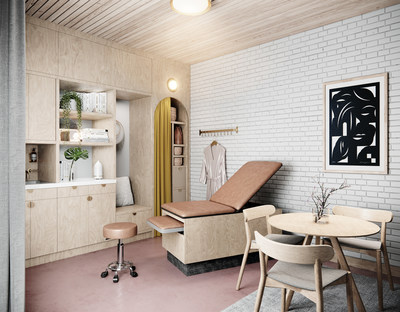 Kindbody's flagship clinic, designed with Islyn studio, offers a full suite of women's health, fertility and wellness services. It is located in close proximity to the subway at Union Square, for easy access to patients all over New York City.