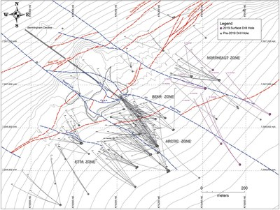 Alexco Intersects 8 1 Meters (true width) at Composite Grade