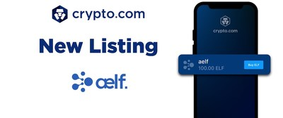 Crypto.com Lists Aelf (ELF)