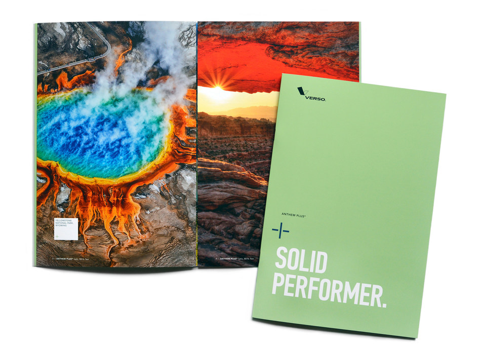 Verso's New Anthem Plus® Coated Paper Promotion
