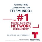 Telemundo Did It Again! For The Third Consecutive Season The Network Is Set To Be The Undisputed Leader In Spanish-Language Weekday Prime