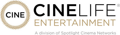 Spotlight Cinema Networks is the only cinema advertising company dedicated to serving the needs of art house and luxury exhibitors for cinema advertising, preshow entertainment, event cinema, and digital display distribution.  CineLife Entertainment® acquires and distributes event cinema and alternative content titles in the U.S. and international markets. Spotlight Cinema Networks is owned by Wagner-Cuban Companies and Arthouse Marketing Group and represents the top exhibitors in these genres. (PRNewsfoto/CineLife Entertainment)