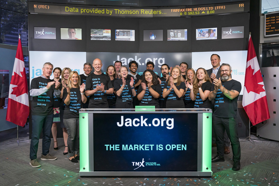 Jack.org Opens the Market (CNW Group/TMX Group Limited)