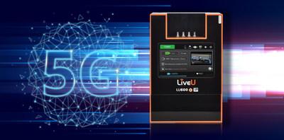 LiveU初の5Gモデム内蔵ユニットLU600 5G