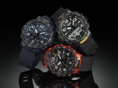 Casio to release new PRO TREK PRT-B50 timepiece equipped with quad sensor and smartphone link