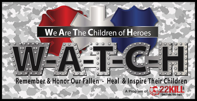 Serving the children and families of America's fallen first responder and military heroes