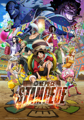 """""""One Piece: Stampede"""" key art. Courtesy of Funimation Films"""
