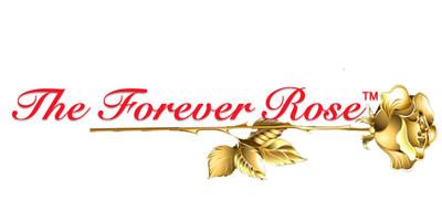 Forever Rose Company Logo - The World Longest Lasting Forever Roses, Gold Roses, Beauty and the Beast Roses, Gold Dipped Roses and Enchanted Roses. (PRNewsfoto/Forever Rose, LLC)