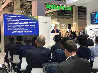 "SVOLT Energy announced the ""Engagement in Europe"" at the IAA show"