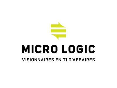 Logo : Micro Logic, visionnaire en TI d'affaires (Groupe CNW/Micro Logic)