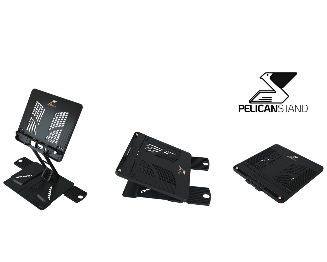 PelicanStand is the Latest Must Have Gadget From the Genius Who Invented the Foldable Mobile Phone