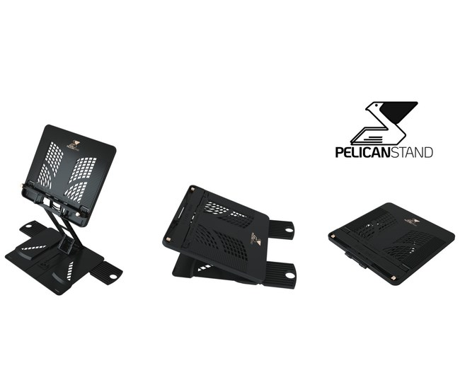 PelicanStand will change for ever the way you work, read and relax