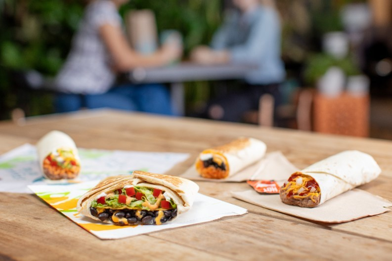 """Beginning Thursday, the brand that has proudly offered great tasting vegetarian options for some time, will launch a not-so-new """"new"""" vegetarian menu nationwide for the first time ever. With 13 great tasting menu items available at more than 7,000 participating restaurants, Taco Bell continues to lead the way with a meaningful vegetarian menu and remains committed to making the items more accessible by including them on a permanent menu board."""
