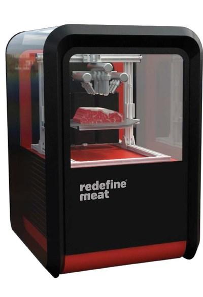 Redefine Meat's Alternative Meat    3D Printer (PRNewsfoto/Redefine Meat)