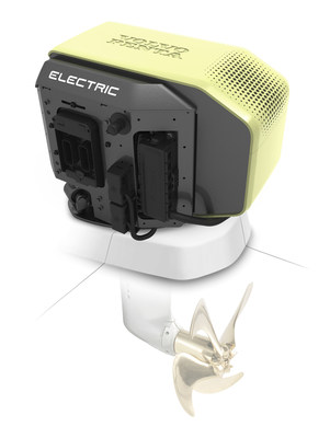 Volvo Penta's new electric Saildrive prototype unveiled at Cannes Yachting Festival.