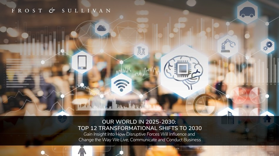 Our World in 2025-2030: Top 12 Transformational Shifts