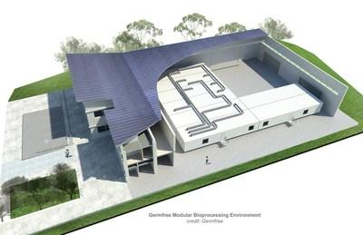 Germfree modular bioprocessing environment (credits: Germfree)