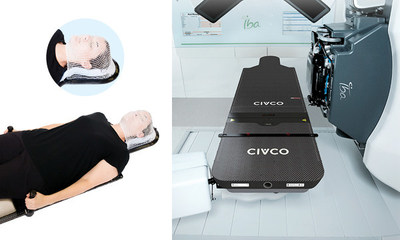 CIVCO's Universal Couchtop™ ProForm™ Head & Neck Solution for Proton Therapy