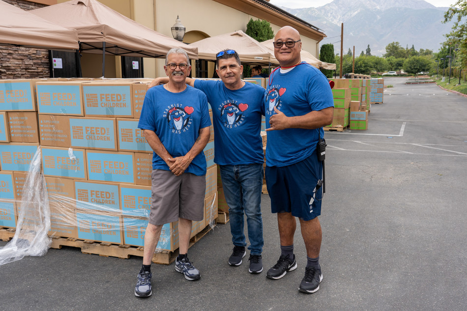 StarKist partnering with Feed the Children to distribute food and essentials to families.