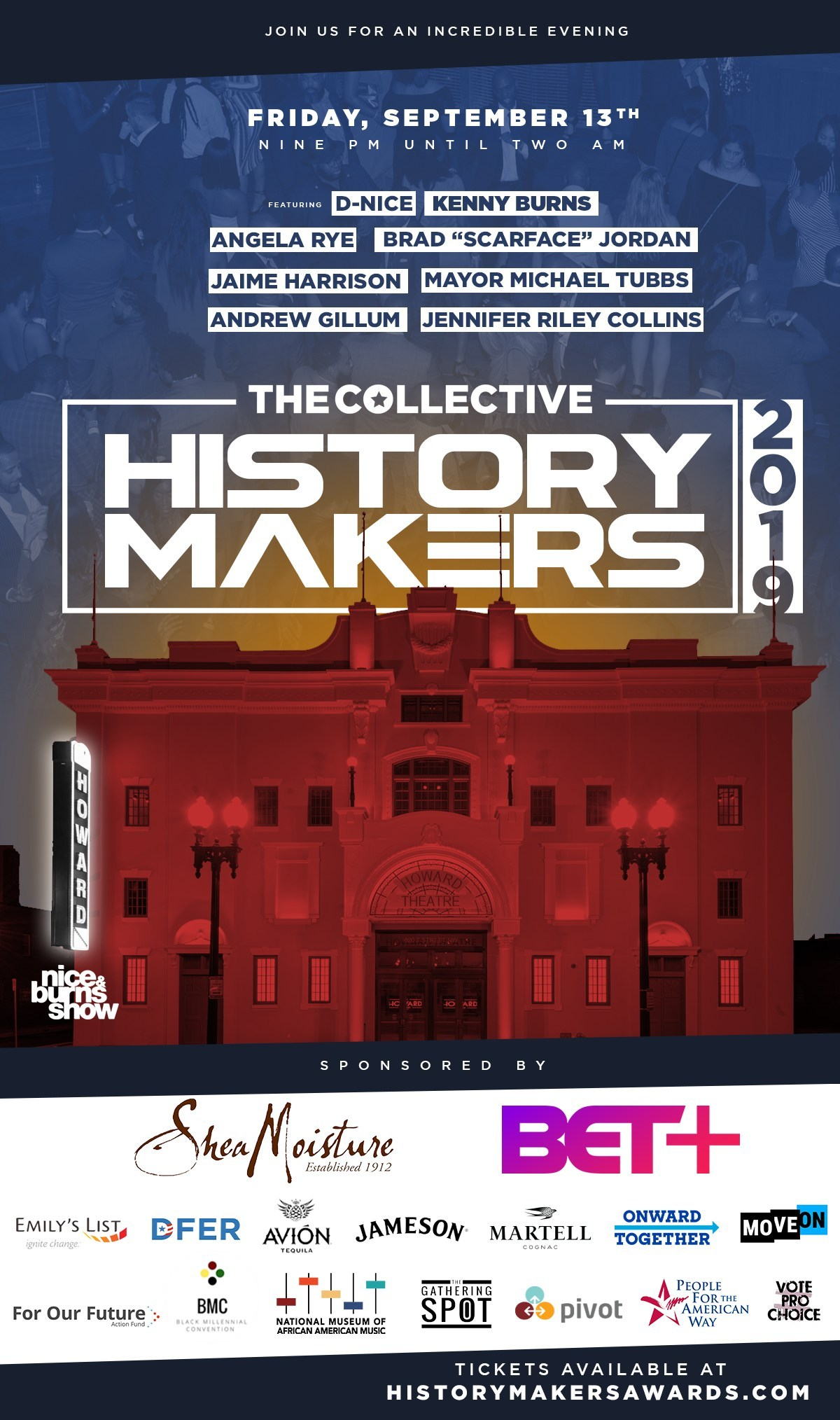 The Collective's 3rd Annual History Makers Award Reception Honors Black History Makers in Politics, Public Policy, The Arts & Entertainment