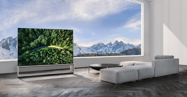 The 88-inch class LG SIGNATURE 8K OLED (model OLED88Z9)1 and 75-inch class LG 8K NanoCell (model 75SM9970)1, with suggested prices of $29,999 and $4,999 respectively, are available at select LG-authorized retailers starting today.