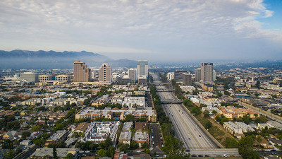 """The 134 Freeway in Glendale was named a """"Risky Road"""" on the 15th annual Allstate America's Best Drivers Report. To spur positive change in communities, Allstate is lending a hand by offering $150,000 in grants that can be used for safety improvement projects on these 15 """"Risky Roads."""" (PRNewsfoto/Allstate)"""
