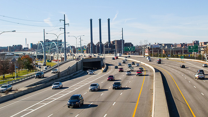 """Route 95 in Providence was named a """"Risky Road"""" on the 15th annual Allstate America's Best Drivers Report. To spur positive change in communities, Allstate is lending a hand by offering $150,000 in grants that can be used for safety improvement projects on these 15 """"Risky Roads."""" (PRNewsfoto/Allstate)"""