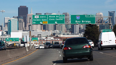 "Highway 101 in San Francisco was named a ""Risky Road"" on the 15th annual Allstate America's Best Drivers Report. To spur positive change in communities, Allstate is lending a hand by offering $150,000 in grants that can be used for safety improvement projects on these 15 ""Risky Roads."" (PRNewsfoto/Allstate)"