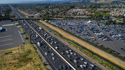 "Highway 880 in Hayward was named a ""Risky Road"" on the 15th annual Allstate America's Best Drivers Report. To spur positive change in communities, Allstate is lending a hand by offering $150,000 in grants that can be used for safety improvement projects on these 15 ""Risky Roads."" (PRNewsfoto/Allstate)"