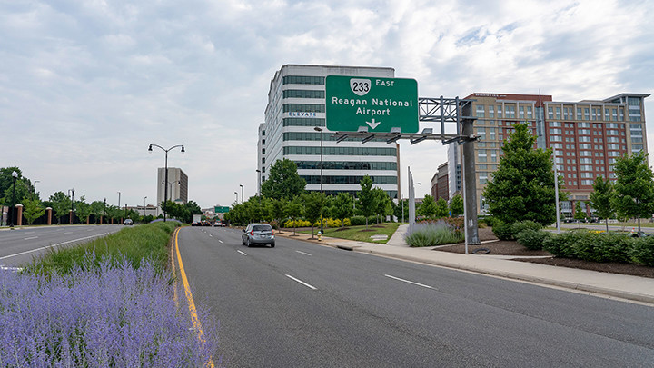"Richmond Highway in Alexandria was named a ""Risky Road"" on the 15th annual Allstate America's Best Drivers Report. To spur positive change in communities, Allstate is lending a hand by offering $150,000 in grants that can be used for safety improvement projects on these 15 ""Risky Roads."" (PRNewsfoto/Allstate)"