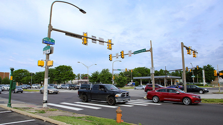 "Roosevelt Boulevard in Philadelphia was named a ""Risky Road"" on the 15th annual Allstate America's Best Drivers Report. To spur positive change in communities, Allstate is lending a hand by offering $150,000 in grants that can be used for safety improvement projects on these 15 ""Risky Roads."" (PRNewsfoto/Allstate)"