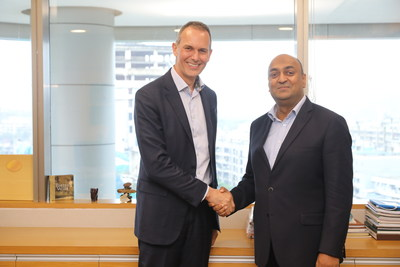 Nick HAGGAR, CEO Zentiva and Rajaram NARAYANAN, Managing Director, Sanofi India Limited