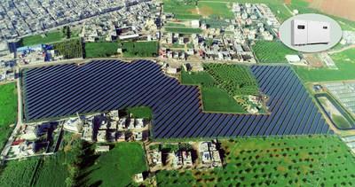 A Huawei FusionSolar fornece energia ao maior centro médico do mundo r (PRNewsfoto/Huawei)