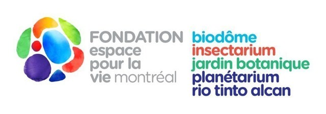 Logo : Fondation Espace pour la vie (Groupe CNW/Fondation Espace pour la vie)
