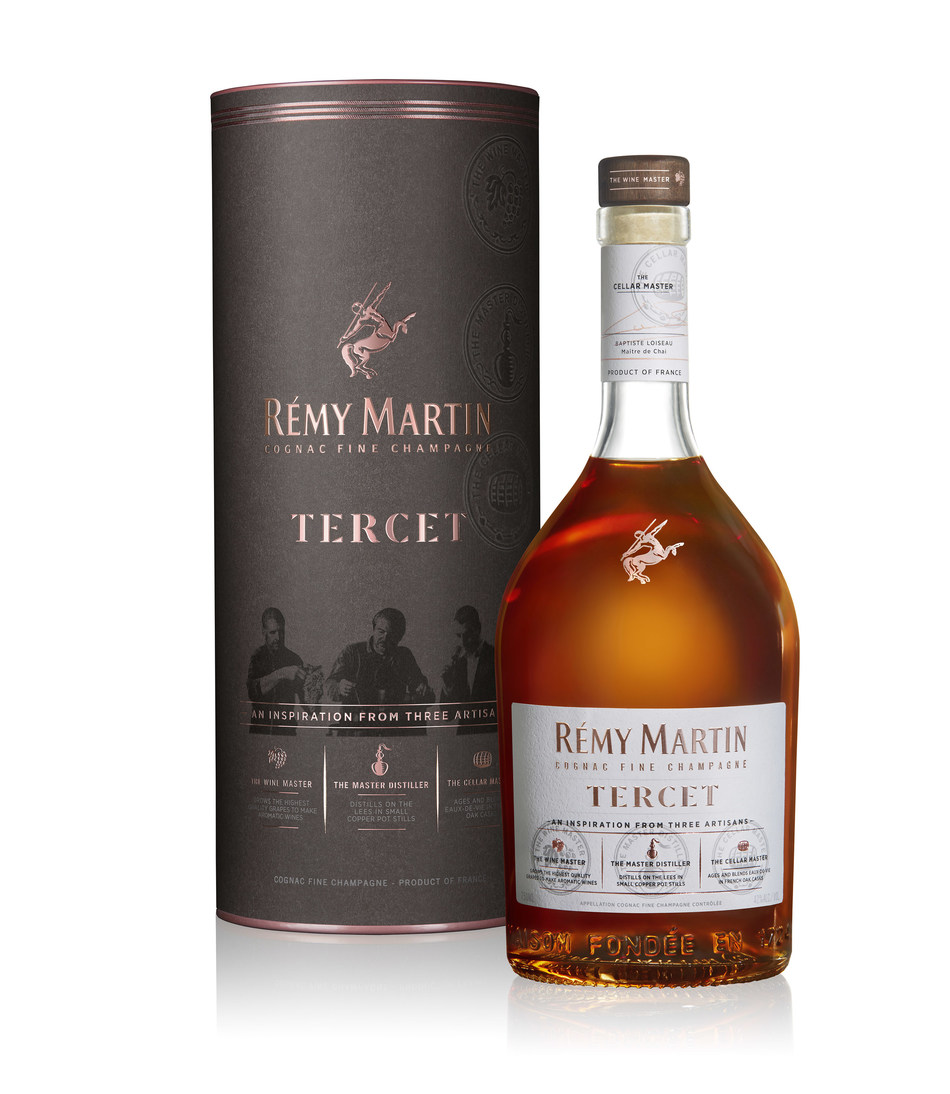 RÉMY MARTIN ANNOUNCES TERCET: AN INSPIRATION FROM THREE ARTISANS