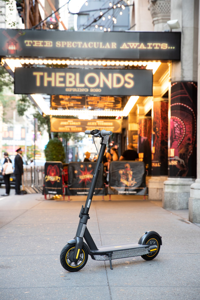 The Blonds x Segway ninebot credit Zilan Fan