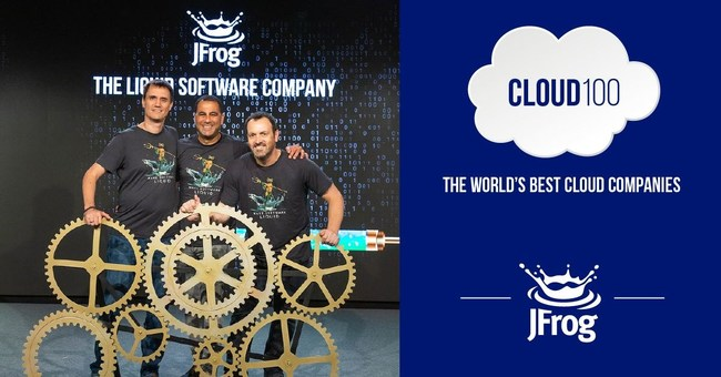JFrog Drives Cloud DevOps and DevSecOps, Leaps Ahead in Forbes 2019 Cloud 100