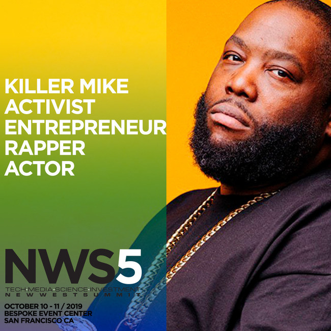 Killer Mike to Keynote at New West Summit in San Francisco, CA